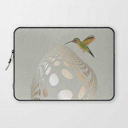 Hummingbird and Bubble Laptop Sleeve