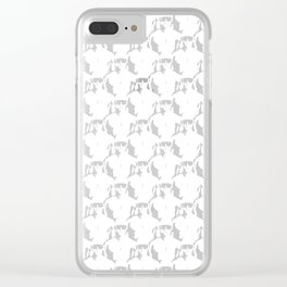 Cool Dudes / 3D render of male figures wearing sunglasses Clear iPhone Case