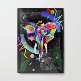 Elephant IV Metal Print