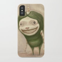 Smile No Matter What iPhone Case