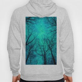 A Certain Darkness Is Needed II (Night Trees Silhouette) Hoody