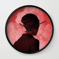 camus Wall Clocks featuring Byronic II by Boris Pelcer