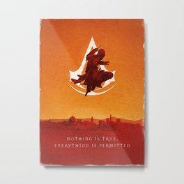 Altair in Jerusalem Metal Print