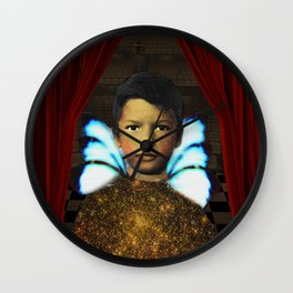 The Rebellious Acolyte Wall Clock