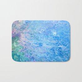 Mermaid Waves Bath Mat