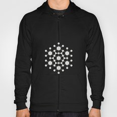 flower of life, alien crop circle, sacred geometry Hoody