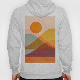 Abstraction_SUNSET_LANDSCAPE_POP_ART_Minimalism_018X Hoody