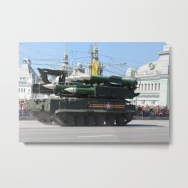 moscow power Metal Print
