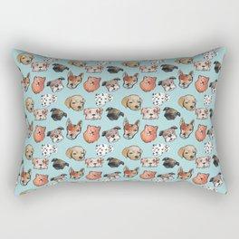 dogs Rectangular Pillow