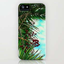 Manila Palm Tree - Hawaii iPhone Case