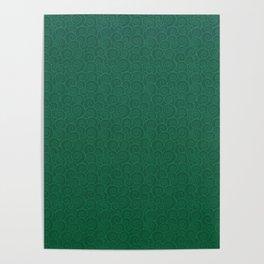 Mei Skin Jade Pattern Poster