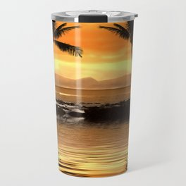 Tropical Seascape Travel Mug
