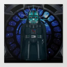 Emperor's Wrath Darth Vader Canvas Print