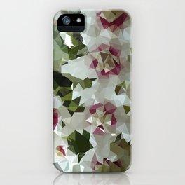 hoya low triangle iPhone Case
