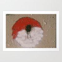 pokeball Art Prints featuring Pokeball by Atticus Davis