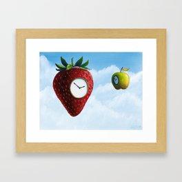 D (StrawberryClock's Dream) Framed Art Print