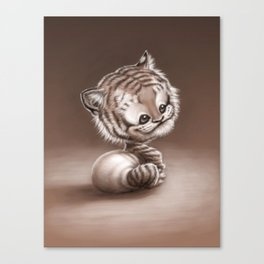 Tiger Baby Canvas Print
