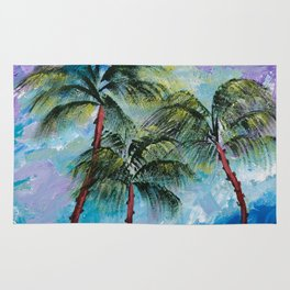 Three Palms Rug