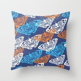 Butterflies 8 Throw Pillow