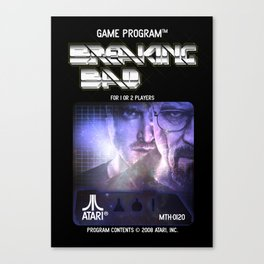 Breaking Bad: The Game Canvas Print
