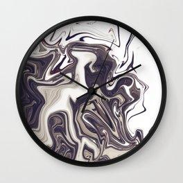 "ABSTRACT LIQUIDS XXXVI ""36"" Wall Clock"
