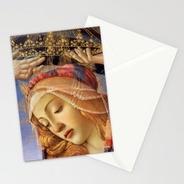 MADONNA THE MAGNIFICENT - BOTTICELLI  Stationery Cards