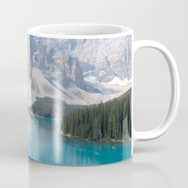 Moraine Lake - One Tree Coffee Mug
