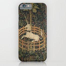 The Unicorn in Captivity iPhone Case