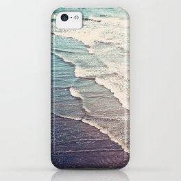 Ocean Waves Retro iPhone Case