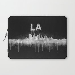 Los Angeles City Skyline HQ v5 WB Laptop Sleeve