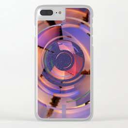 Rainbow Finder Clear iPhone Case