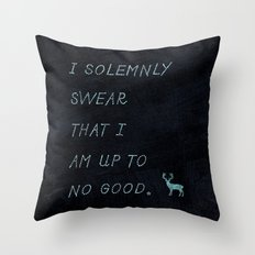 I Solemnly Swear Throw Pillow