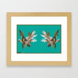 Frakblot bork Framed Art Print