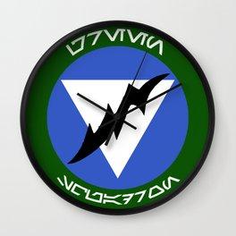 Green Squadron (Alliance) Wall Clock
