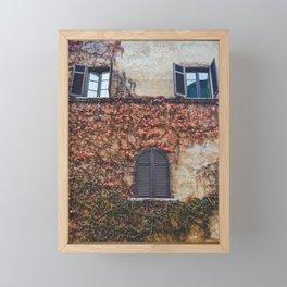 portals .:. room with a view Framed Mini Art Print