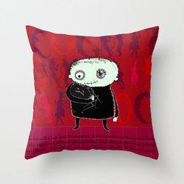 Heroine Protagonist Throw Pillow