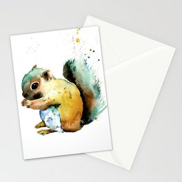 Squirrel - Nuts Stationery Cards