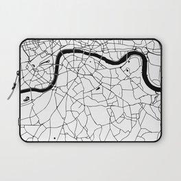 London Minimal Map Laptop Sleeve