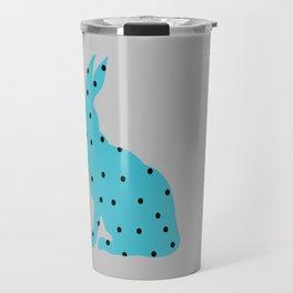 Blue Rabbit Travel Mug