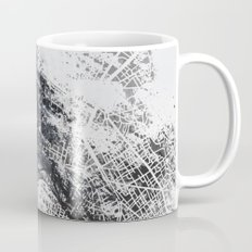 Eiffel tower painting  - Paris Map Mug