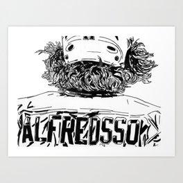 Alfredsson 2 Art Print
