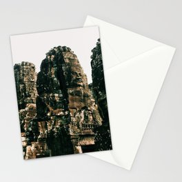 TRANSCENDENCE // The Bayon, Siem Reap, Cambodia Stationery Cards