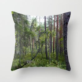 Home of the ancient ones Throw Pillow