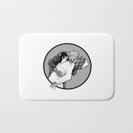 This is Z-Day - The Happy Couple (gray window) Bath Mat