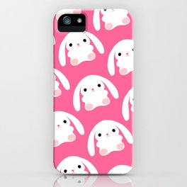 Mei the Strawberry Rabbit iPhone Case