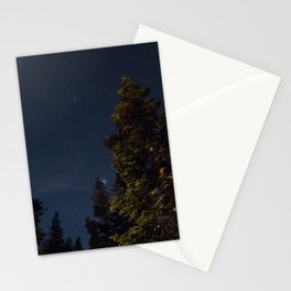 Starry Trees Stationery Cards