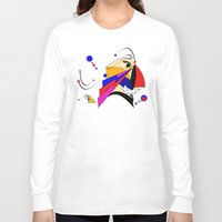 birdman Long Sleeve T-shirts featuring Birdman by Charles Oliver