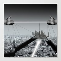 architect Canvas Prints featuring Architect by Mand'Ine Wonderland