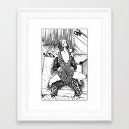 asc 619 - Le sexy chic (Miss Fifi's slumming) Framed Art Print