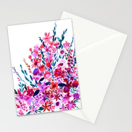 Scarlett Floral Stationery Cards